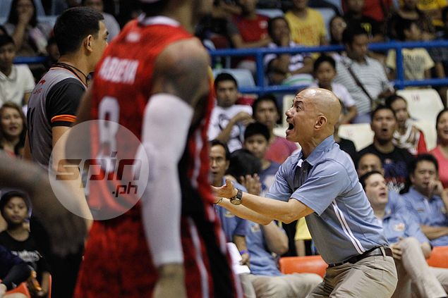 Yeng Guiao condemns Alvin Pua punch on referee, but admits temptation to do the same