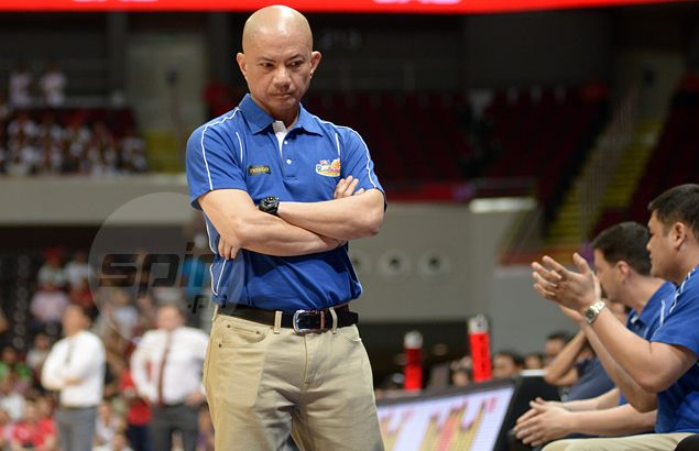 Blame the holiday traffic as Yeng Guiao fails to call shots for Rain or Shine in opening half of Game Two