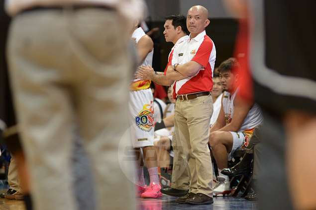 Emphasizing his point, Yeng Guiao slaps Rain or Shine players with fines for every missed rebound