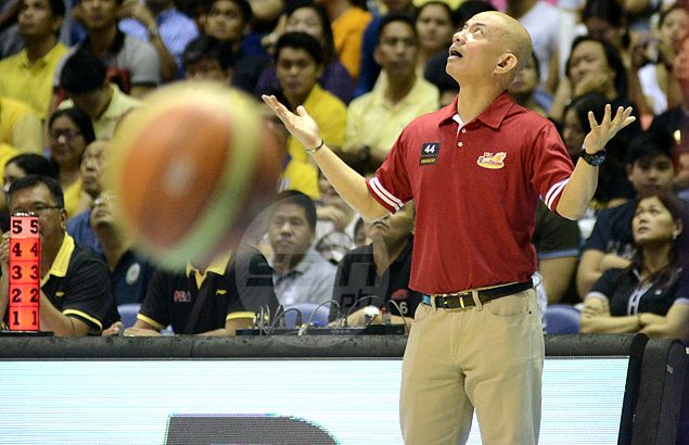 Game Seven 'bum calls' a classic example of how bad PBA officiating is handled, rues Yeng Guiao