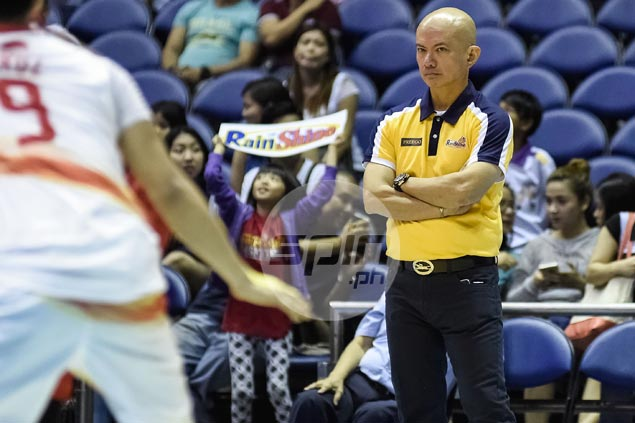 Irony not lost on Guiao as he reunites with Aguilar, coaches Abueva in PBA All-Stars