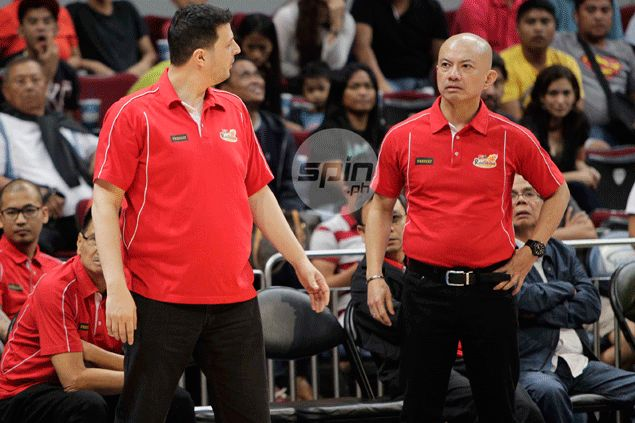 Believe it or not, Rain or Shine coach Yeng Guiao happy with officiating - so far