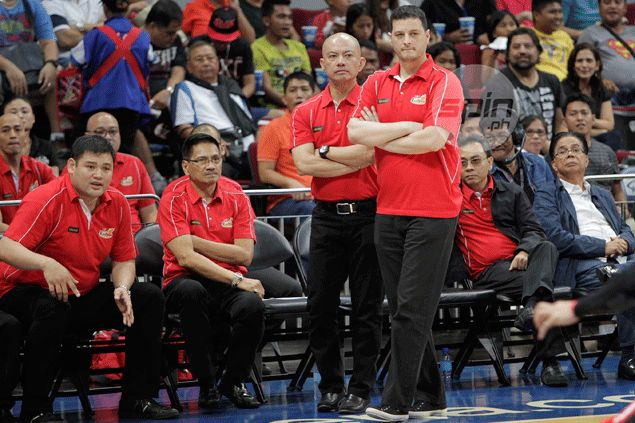 Yeng Guiao spared of fine, thankful late arrival didn't cost Rain or Shine a win