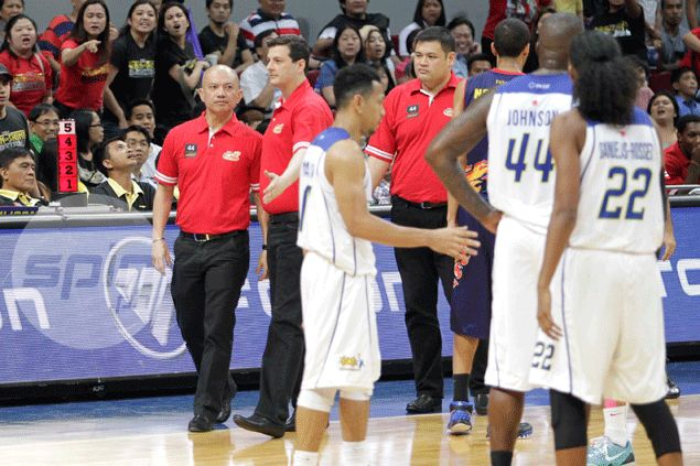 Talk 'N Text import Ivan Johnson summoned by Salud for 'intentional bump' on Yeng Guiao