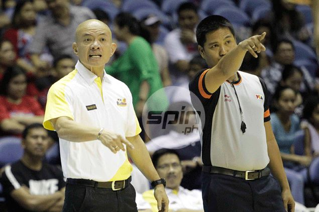 Yeng Guiao says stunning Purefoods downfall a cautionary tale for Rain or Shine