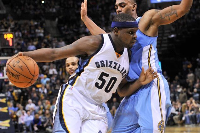 Zach Randolph, Grizzlies put away resilient Nuggets