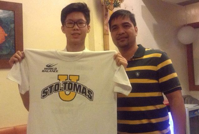 Cebu high school standout Zachy Huang commits to play for rebuilding UST Tigers
