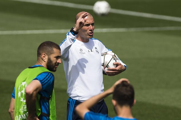 Zinedine Zidane looks forward to earning first Champions League title as coach
